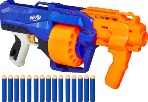Hasbro E0011EU4 NERF - N-Strike Elite Surgefire, ab 8 Jahren