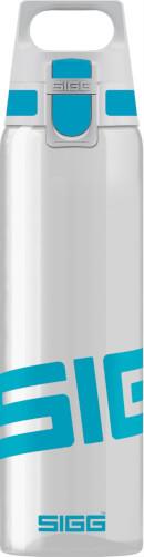 SIGG TOTAL CLEAR ONE Aqua Trinkflasche, 0,75 Liter