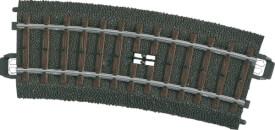 Märklin 24194 H0-Schaltgleis geb. r360 mm,15 G