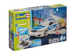 REVELL 00802 Modellbausatz Polizeiauto 1:20, ab 4 Jahre