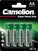 Camelion Super Heavy Duty Batterien Mignon, 1,5V, 4er Blister
