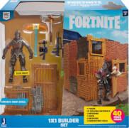 Jazwares Fortnite FNT0048 FORTNITE - 1x1 Builder Set mit Spielfigur Black Knight Serie 1