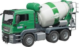 Bruder MAN TGS Betonmisch-LKW, ab 3 Jahren, Maße: 50,8 x 18,5 x 26,4 cm, Plastik & Kunststoff