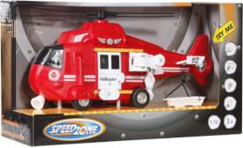 Speedzone Einsatz Hubschrauber Licht & Sound, Friktion, 1:16