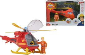 Simba Feuerwehrmann Sam - Hubschrauber inkl. Licht/Sound mit Figur