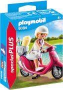 Playmobil 9084 Strand-Girl mit Roller