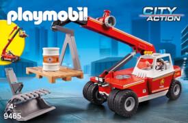 Playmobil 9465 Feuerwehr-Teleskoplader