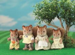 Sylvanian Families 3136 Walnuss Eichhörnchen Familie