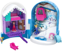 Mattel FRY37 Polly Pocket Pocket World Schneespaß Schatulle