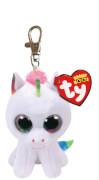 TY Key Clip Einhorn Pixy (Beanie Boo's), Plüsch, ca. 5x6x9 cm
