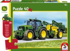 Schmidt Spiele Puzzle John Deere Traktor 6630, 40 Teile