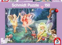 Schmidt Spiele Puzzle Feentanz, 150 Teile