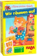 HABA - Meine ersten Spiele - Wir räumen auf, ab 2 Jahren