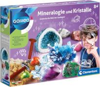 Clementoni Galileo - Ausgrabungsset Mineralogie und Kristalle
