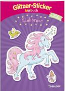 Tessloff Glitzer-Sticker-Malbuch Einhörner, Taschenbuch, 32 Seiten, ab 5 Jahren
