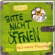 Bitte nicht öffnen: Nur meine Freunde (Freundebuch)
