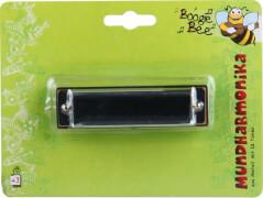 Boogie Bee Mundharmonika Metall, Länge ca. 10,5 cm, Kinderinstrument, ab 3 Jahren