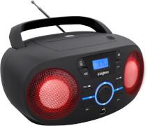 Tragbares CD/Radio mit USB schwarz