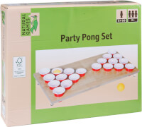 Natural Games Party Pong 47 x 23,5 x 4 cm