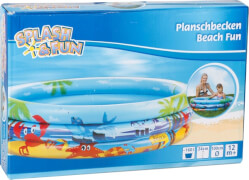Splash & Fun Planschbecken Beach Fun # 100 cm