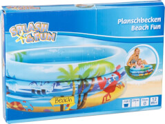 Splash & Fun Babyplanschbecken Beach Fun, # 70 cm