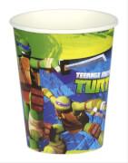 8 Becher Teenage Mutant Ninja Turtles 266 ml
