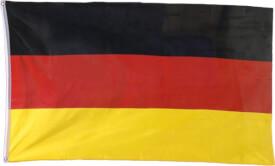 Deutschlandflagge 90x150cm